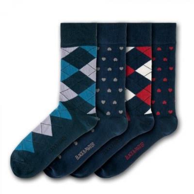 Unisex-Socken Escot Park | 4 Paare