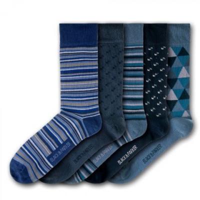 Rosmarin-Garten-Unisex-Socken | 5 Paare