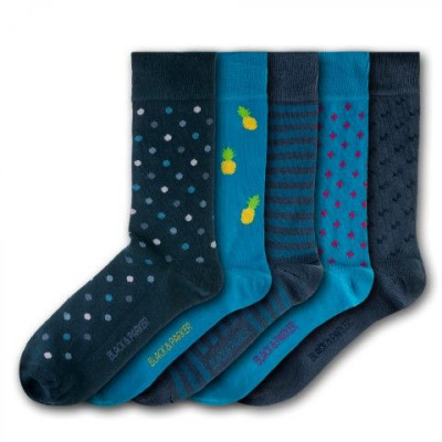 Knoll Gardens Unisex-Socken | 5 Paare