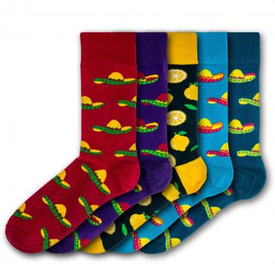 Unisex-Socken Killerton | 5 Paare