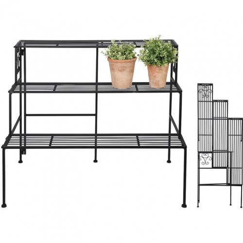 Collapsible Rack | 3 Steps | Black