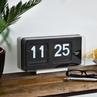 Flip-Clock BQ50   Weiß