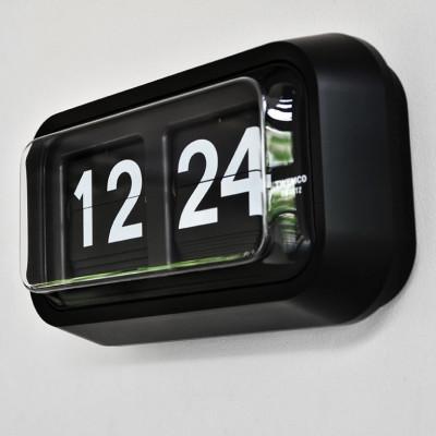 Flip-Clock BQ58   Schwarz