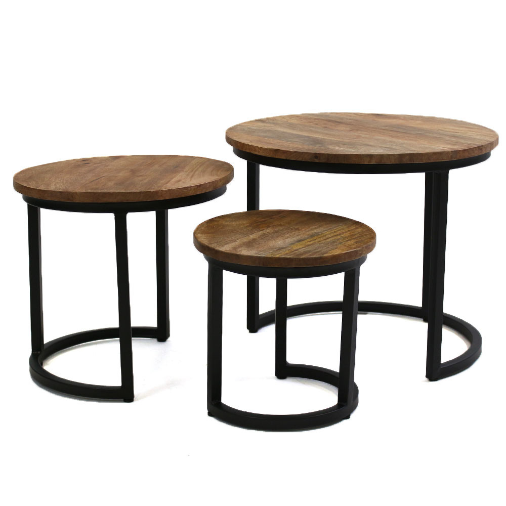 Side Table Buxton   Set of 3