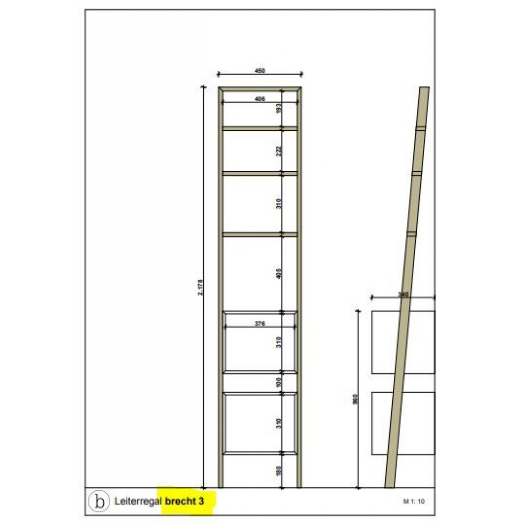Ladder Shelf brecht