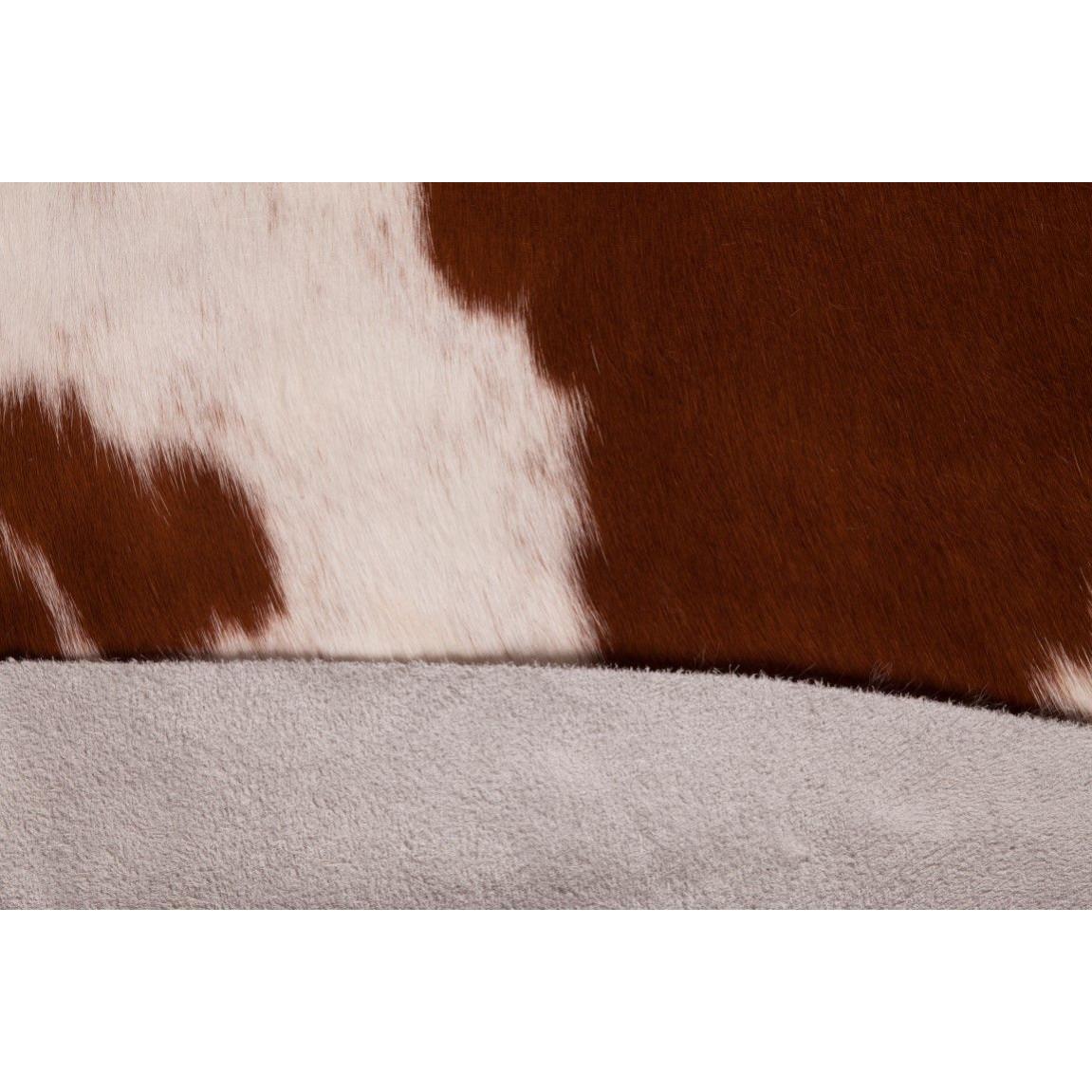 Kuhfell   Braun & Weiß