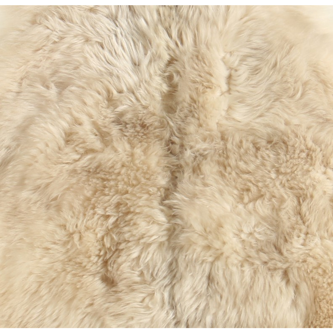 Schaf-Teppich Wild Long Hair   Weiß