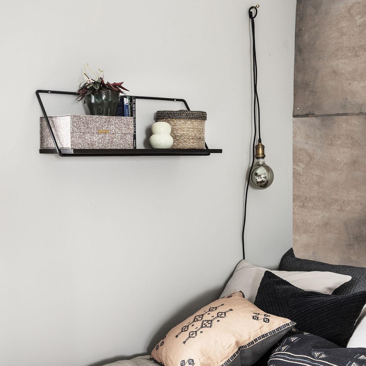 Shelf Wired 70 cm | Black