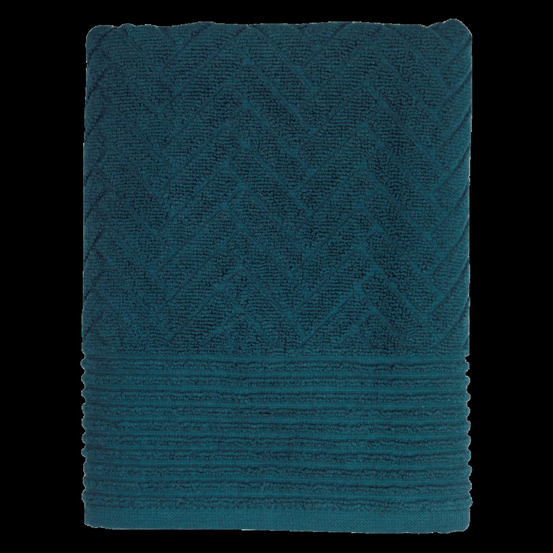 Badetuch Backstein | Mitternachtsblau