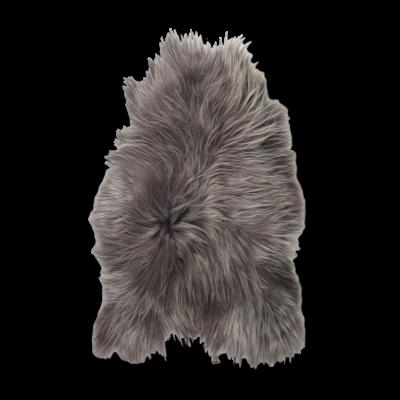 Isländischer Schaf-Teppich | Stahlgrau