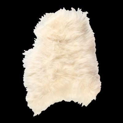 Isländischer Schaf-Teppich | Weiß