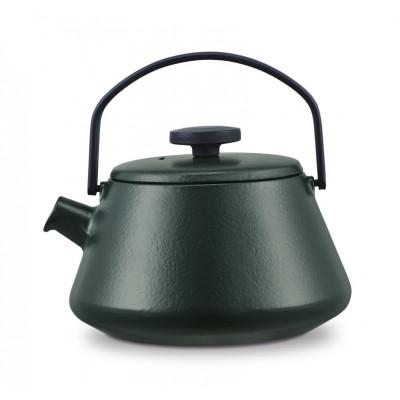 Gusseisen Teekanne T-time | Dunkelgrün