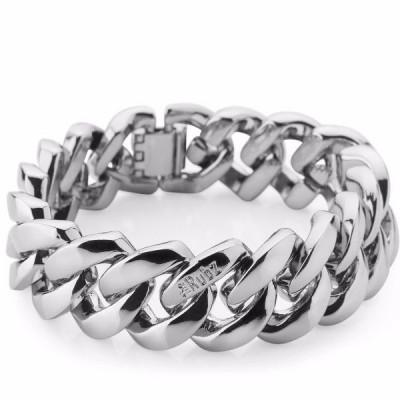 The Metal bracelet   Silver Metal Bracelet