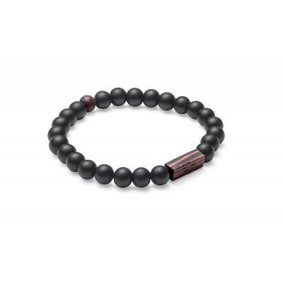 Stein-Armband Nox Wenge Unisex