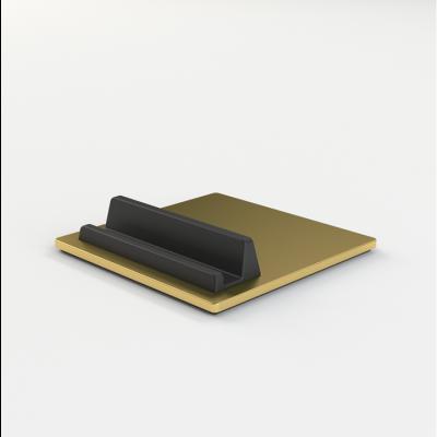 Telefon- & Tablettenhalter-Fliese | Messing