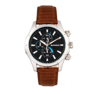 Watch Lacroix | Silver & Brown Genuine Leather