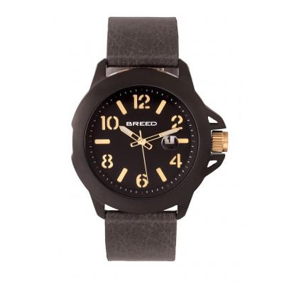 Watch Bryant | Black & Grey Genuine Leather
