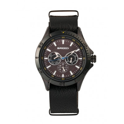 Watch Dixon | Black & Black Genuine Leather