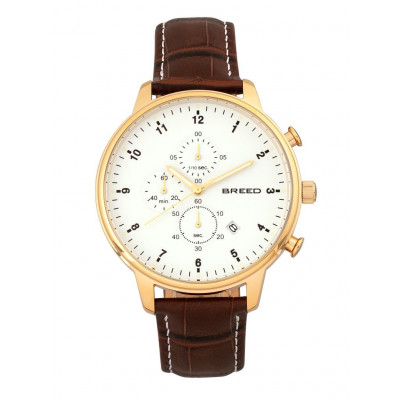 Watch Holden | Gold & Brown Genuine Leather
