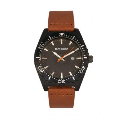 Watch Ryker | Black & Light Brown Genuine Leather