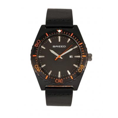 Watch Ryker | Black & Black Genuine Leather