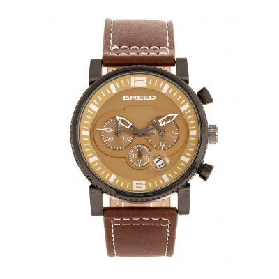Watch Ryker | Black & Brown Genuine Leather