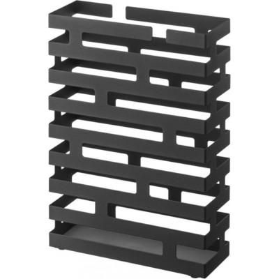 Brick Umbrella Stand Rectangle | Black