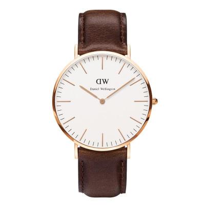 Klassische Bristol-Uhr | Rose Gold