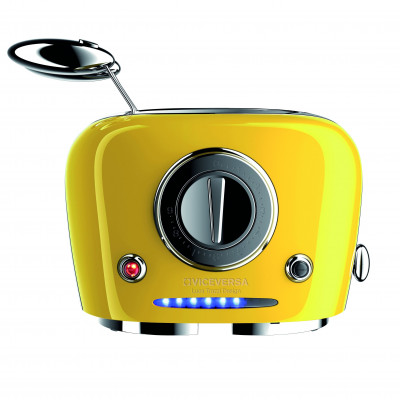 TIX Toaster with Grippers   Yellow