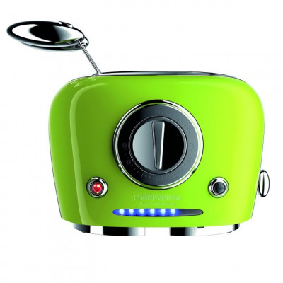 TIX Toaster with Grippers   Green