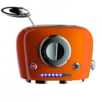 TIX Toaster with Grippers   Orange