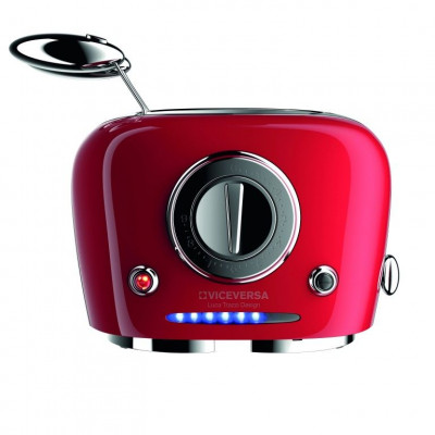 TIX Toaster with Grippers   Red