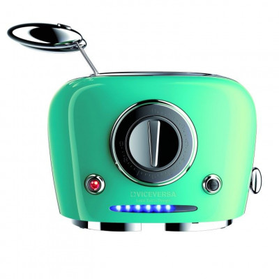 TIX Toaster with Grippers   Turquoise