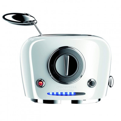 TIX Toaster with Grippers   White