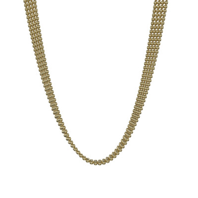 Strand Ball Halskette Brooklyn | Gold