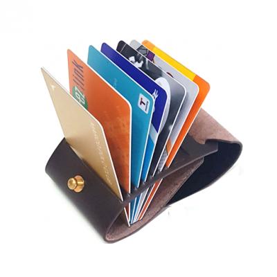Fan Wallet | Forest Track - Dark Brown