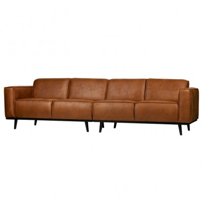 4er-sofa Statement L 280 cm | Cognac