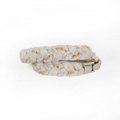 Bracelet | White & Gold