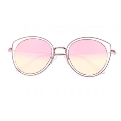 Sunglasses Bertha Sasha | Rose Gold + Pink Frame