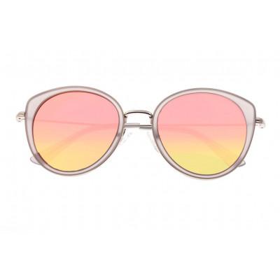 Sunglasses Bertha Sasha | Rose Gold + Silver Frame