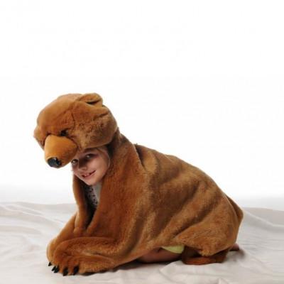 Braunbär-Kostüm