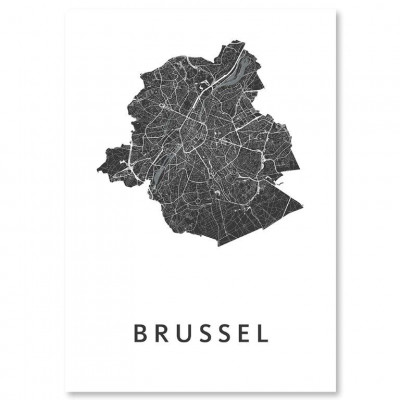 City Map Brussels
