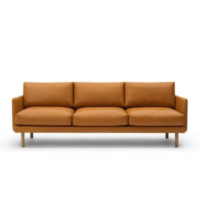 3 Seater Sofa Emo | Cognac Analin Leather