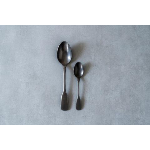 Brick Lane Cutlery Set Black | 24 Pieces