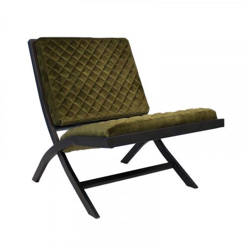 Stuhl Randolph Velvet | Olive