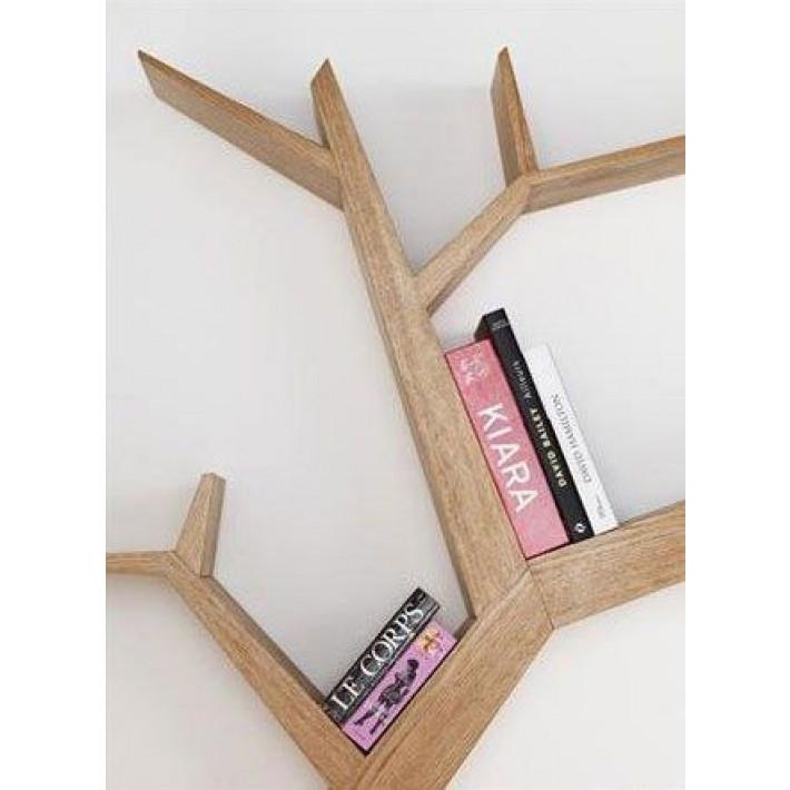 Bookshelf Tree Branch Walnut