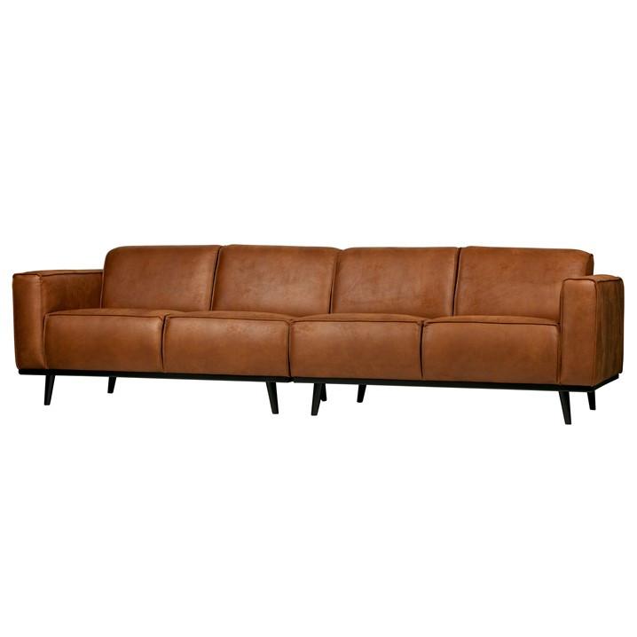 4er-sofa Statement L 280 cm   Cognac