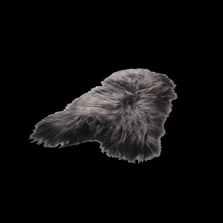 Isländischer Schaf-Teppich | Graphit