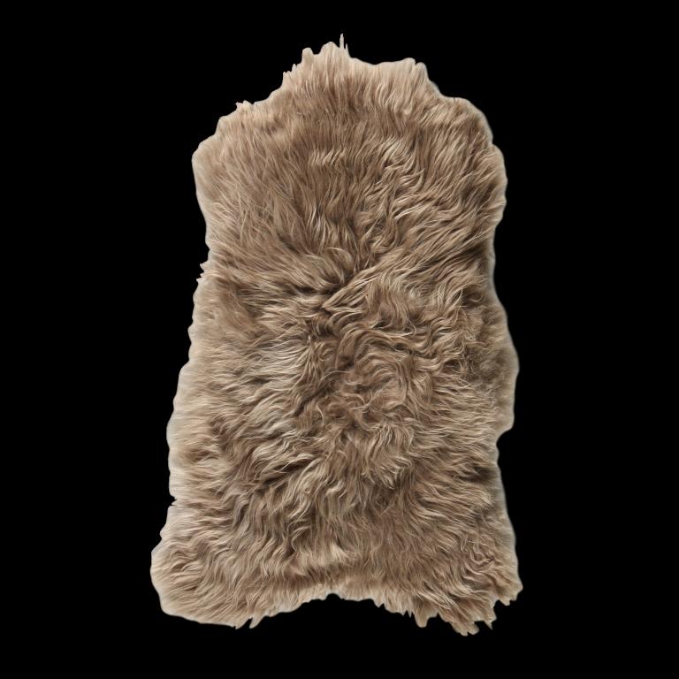 Isländischer Schaf-Teppich   Taupe