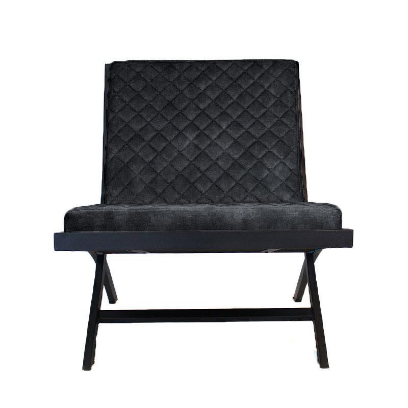 Stuhl Randolph Velvet | Anthrazit